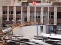 В Москве рухнул 20-метровый башенный кран