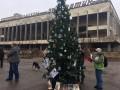 В Припяти впервые за 33 года установили новогоднюю елку