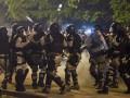 Протесты в Македонии: полиция применила светошумовые гранаты