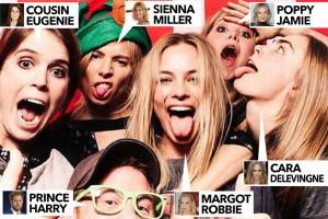 Принц Гарри посетил вечеринку с актрисами и моделями