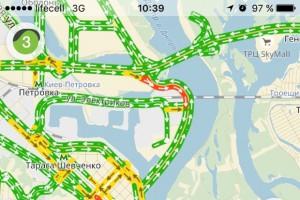 Яндекс.Карты заработали через мобильный интернет