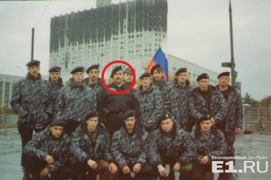 Ефимов в 1993 году штурмовал Белый дом
