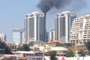 Пожарные достают только до 7 этажа