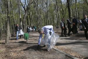 Джеффри Пайетт в киевском парке