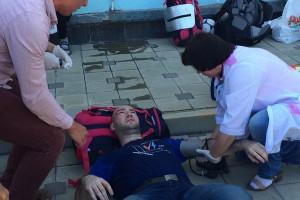 В аэропорту Анапы напали на Навального и представителей организованного им фонда
