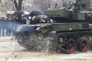 В Харькове продемонстрировали танк Оплот