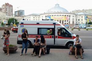 Спасатели проверяют информацию о якобы минировании ТРЦ Украина