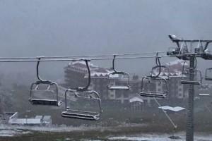 Фото снега с веб-камер горнолыжных курортов