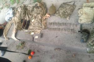 У мужчины обнаружили автомат АКС-74У, патроны для него и оснащенный патронами магазин