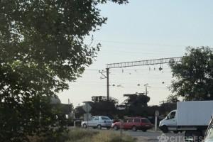 Колонна военной техники, направляющаяся в Симферополь из РФ