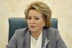 Валентина Матвиенко , Спикер Совета федерации