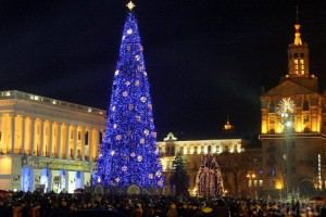 Новогодняя елка в 2005 году