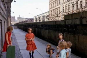 Берлинская стена в 1980 году