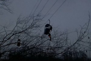 В Харькове на аттракционе на высоте 10 метров застрягло 12 человек