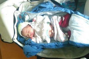 Младенец находится под присмотром врачей