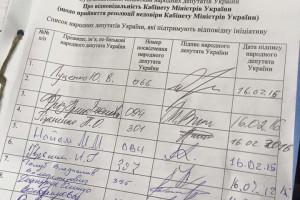 нардеп Суслова опубликовала фото бланка