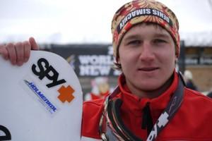 Николай Олюнин, Сноубордист