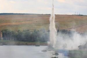 Боевики в Луганской области форсировали водную преграду