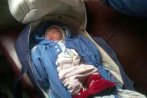 Полиция Киева разыскивает мать, которая оставила новорожденную дочь в электричке