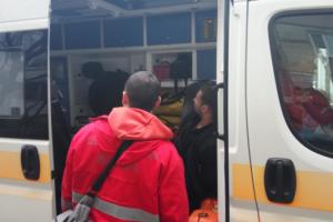 Мужчина с ранением госпитализирован в больницу