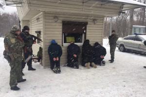 Полиция задержала грабителей