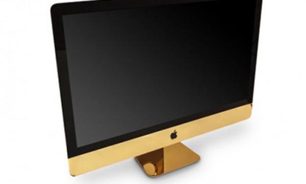 Золотой  iMac, созданный Goldgenie