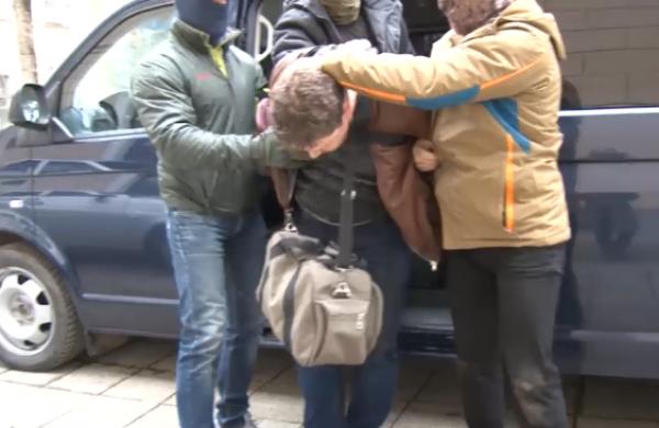 ФСБ опубликовало видео задержания