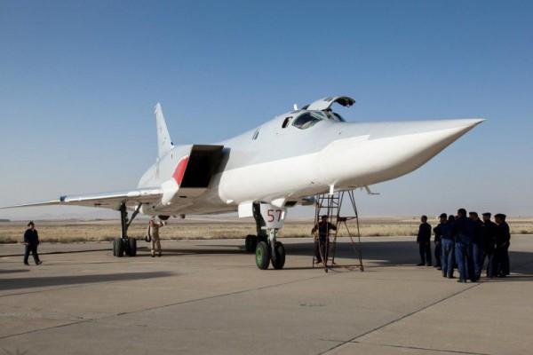 Ранее российские бомбардировщики вылетали с авиабазы в Моздоке