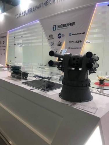 Украина представила продукцию своего ОПК на выставке в ОАЭ1