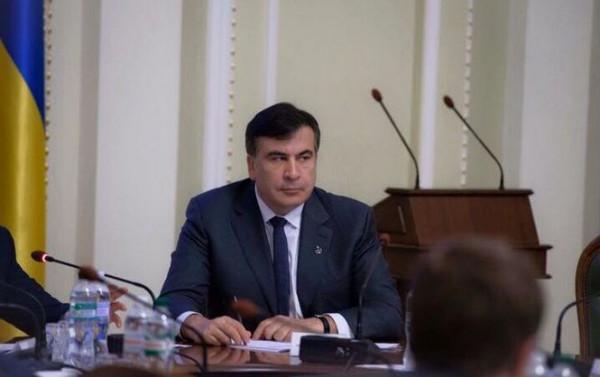 Михеил Саакашвили принял участие в антикоррупционном форуме в Одессе