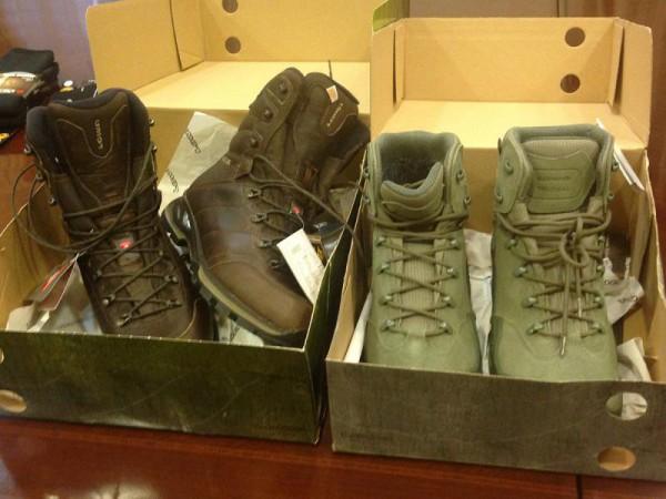 Обувь для спецназа НАБУ