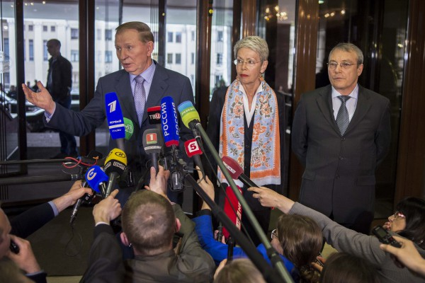 Контактная группа по Донбассу завершила работу в Минске
