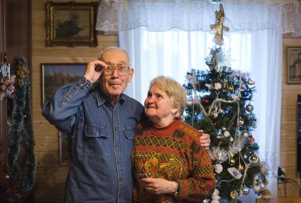Александр Покровский с женой в Изборске