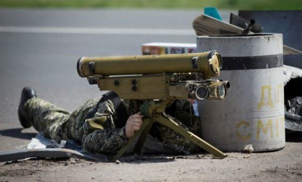 Боевики применили ПТРК против военных