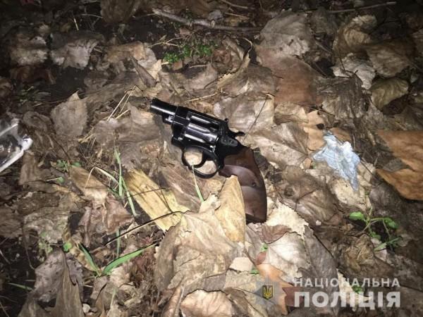 У задержанного изъят пистолет Флобер