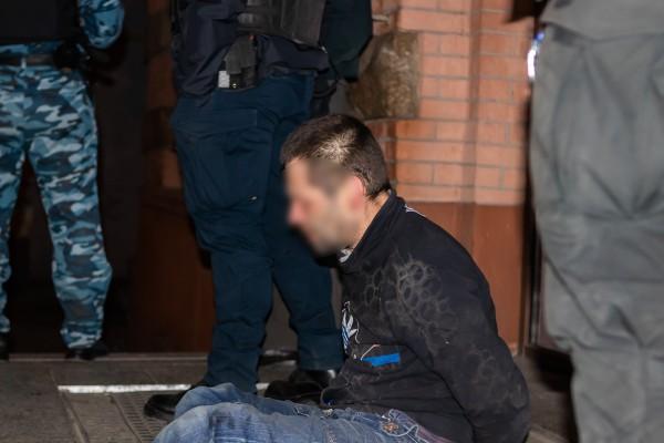 Мужчина хотел скрыться с места преступления
