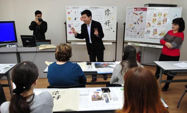 В Украине — бум на изучение китайского языка, за которым, как говорят, будущее.