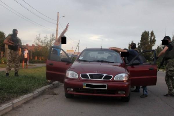 Батальон Днепр-1 задержал в Мариуполе сепаратистов, причастных к расстрелу пограничников