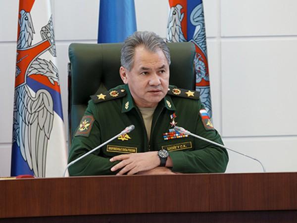Шойгу рассказал о военной операции России в Сирии