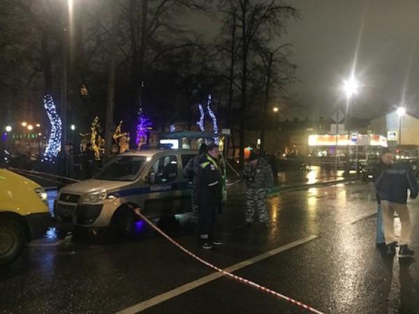 В Москве прогремел взрыв на остановке
