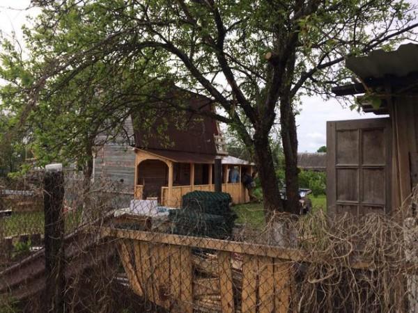 Дом в Тверской области, где произошло убийство