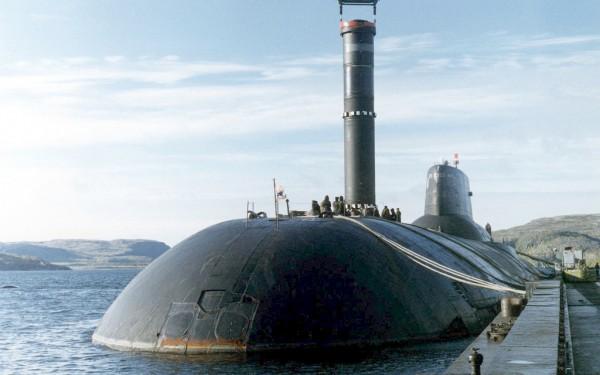 Атомный подводный крейсер «Дмитрий Донской»