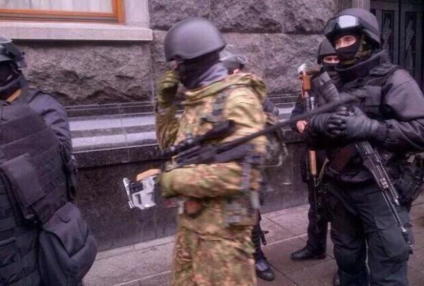 Снайперы возле Майдана