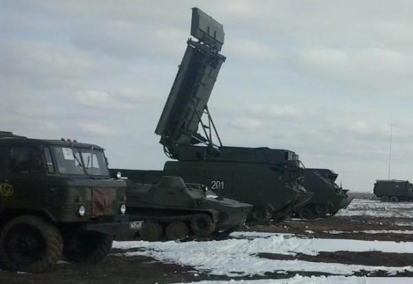 Третья машина слева - радар