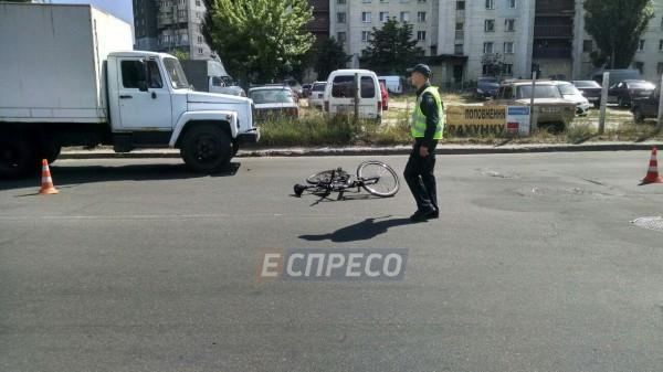 Предварительно, велосипедист нарушил ПДД