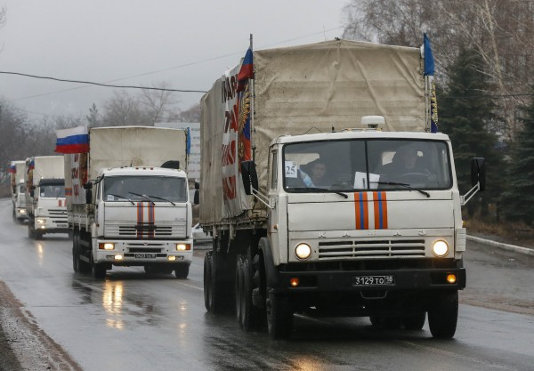 Под Новый год Россия отправляет новый гумконвой