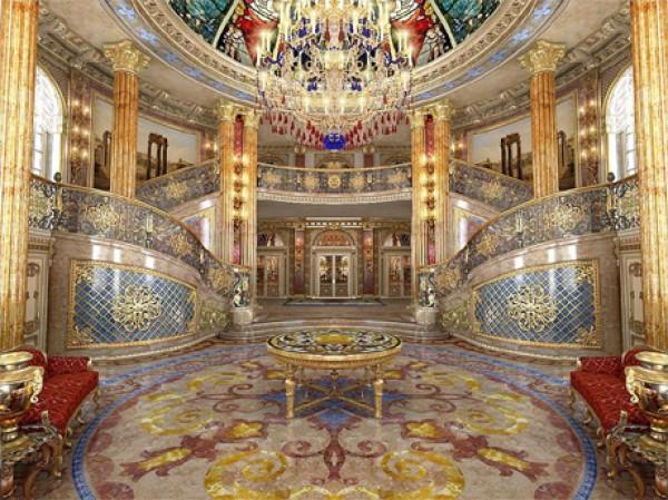 Холл усадьбы Юры Енакиевского