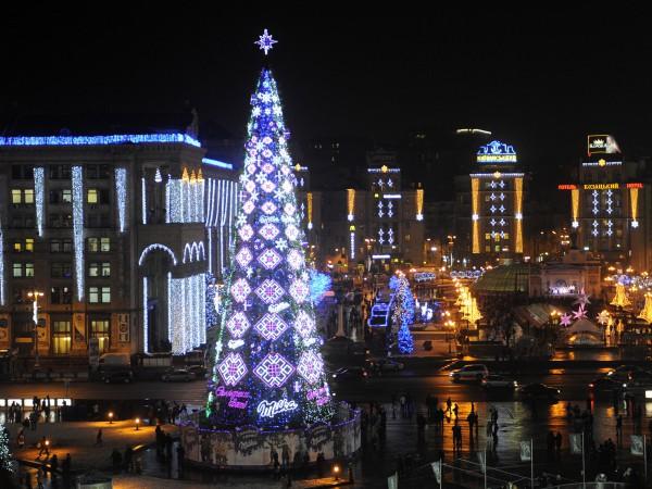 Новогодняя елка в 2011 году