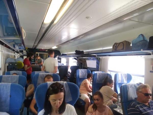Пассажиры будут требовать компенсации от железной дороги