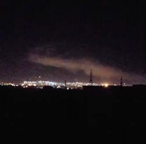 Очевидцы публикуют фото и видеозаписи ударов по Сирии
